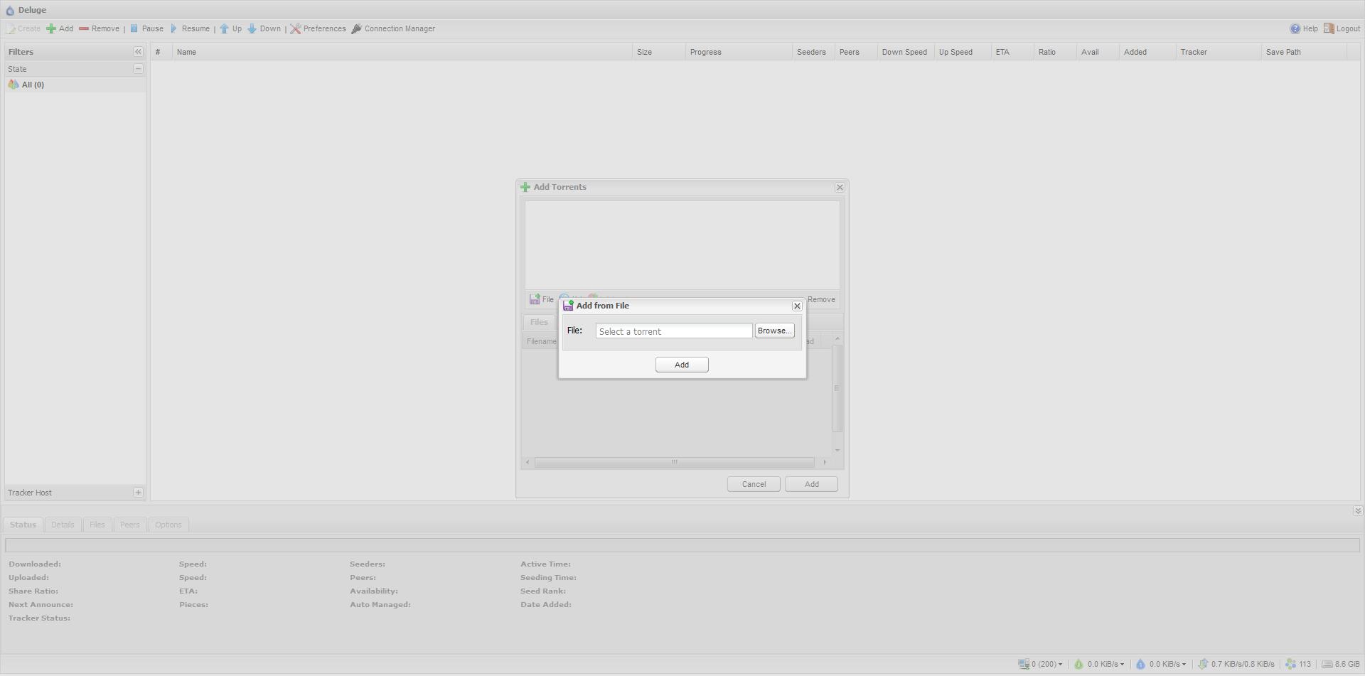 Install deluge daemon ubuntu server | Peatix